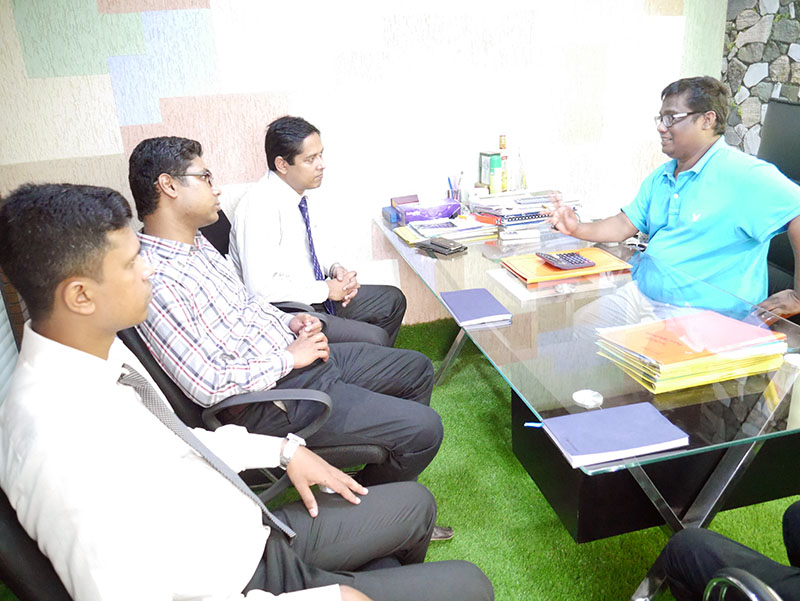 BRAC Bank Visited RSS Thread & Accessories Ltd. Factory